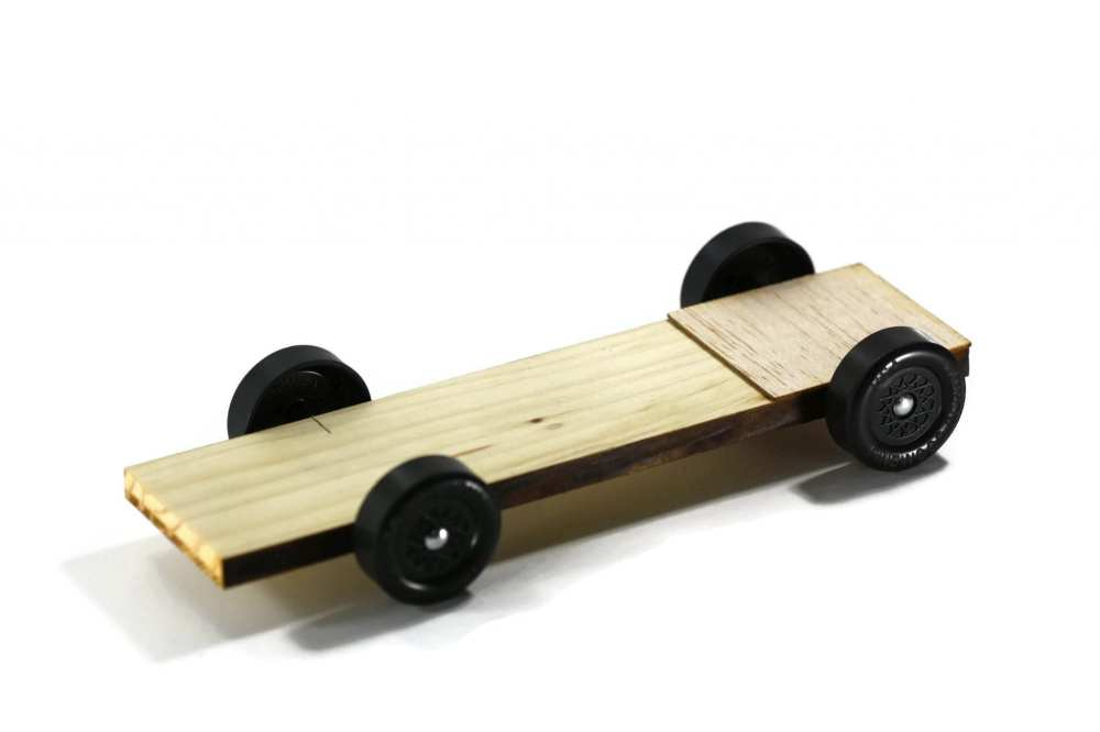 medium resolution of pinewood derby car kit plank