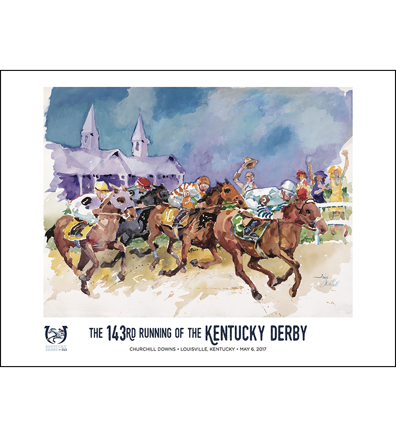 official kentucky derby 143rd program for may 6 2017