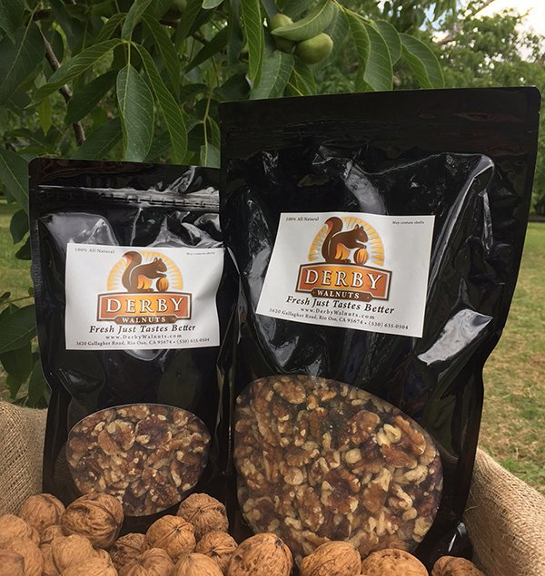 shelled walnuts for sale