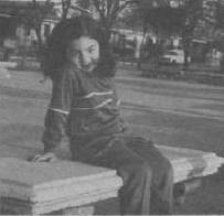 Javiera, hija de Nelson Herrera
