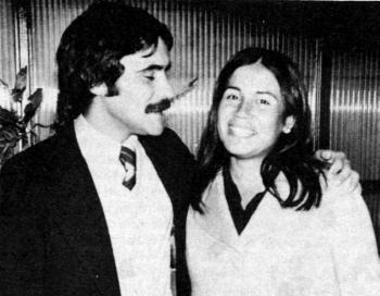 Mario Mujica y Cristina Chacaltana