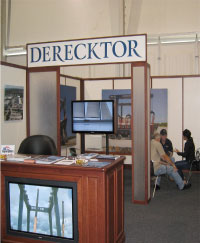 Derecktor's booth at FLIBS 2012