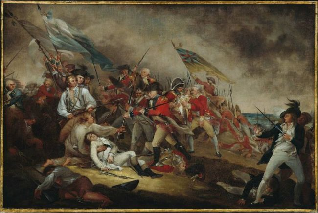 The (Death of Joseph Warren at the) Battle of Bunker's Hill, June 17, 1775
