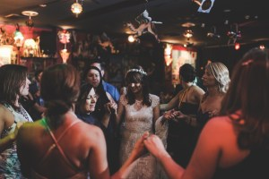Bride and Groom dancing at Camelot Lounge Wedding Reception in Marrickville, Sydney