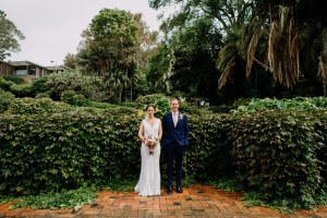 Wedding portraits at McKell Park Darling Point