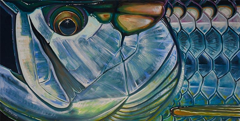 Fall Harvest Wallpaper Hd Abstract Fish Face Series Derek Deyoung