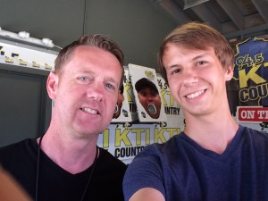 Dayton Kane and Musician Derek Sallmann
