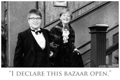 """""""I declare this bazaar open!"""""""
