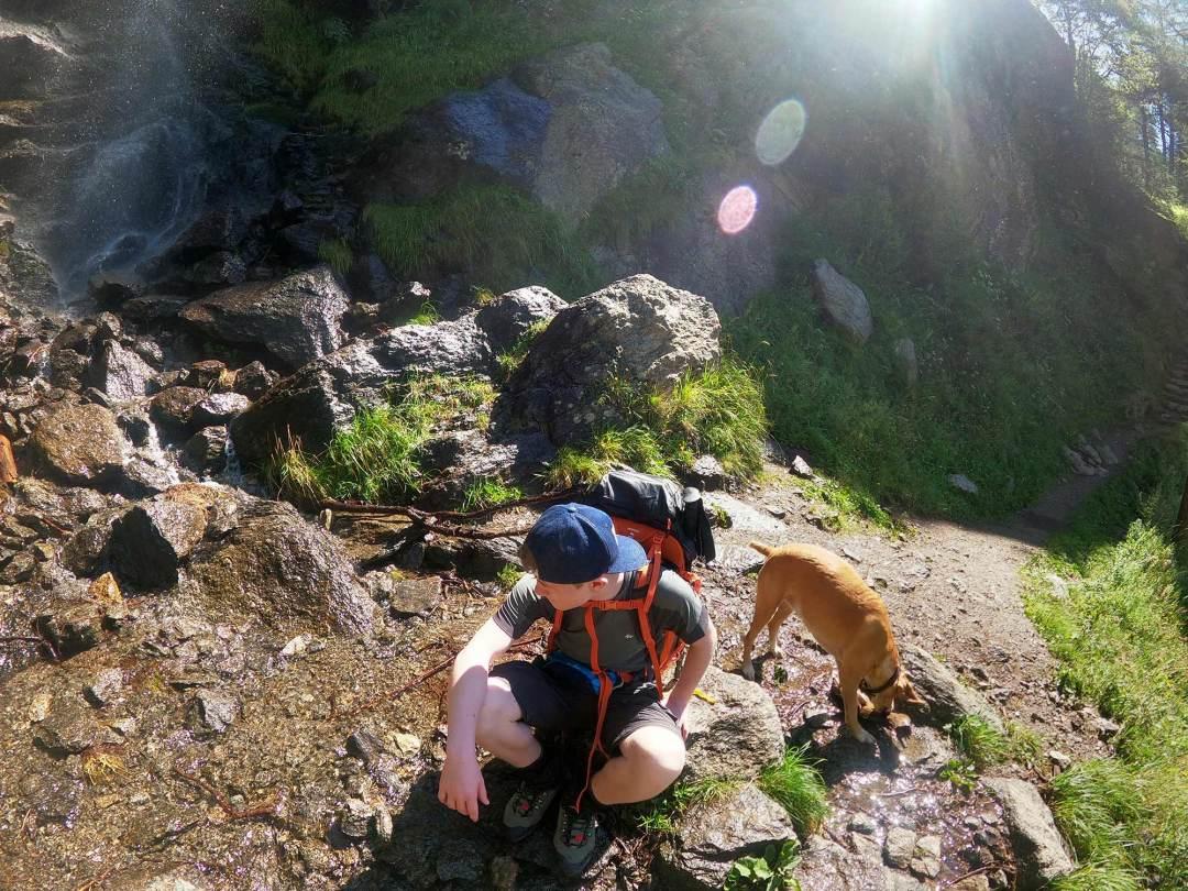 Meraner Höhenweg mit Hund Tag 1