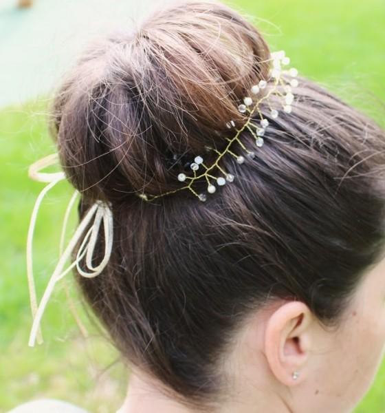 Haarband Gold Der Hochzeitsshop
