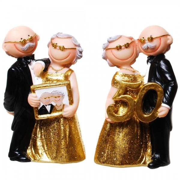 Tortenfigur Comic Goldene Hochzeit  Der Hochzeitsshop