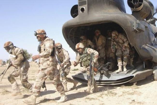 USA sender tropper til Midt-Østen.