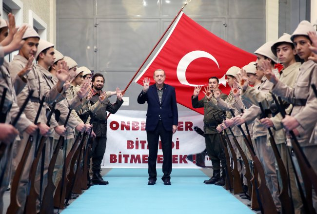 Thierry Meyssan tar for seg den retningen Tyrkia i dag beveger seg nå mot.