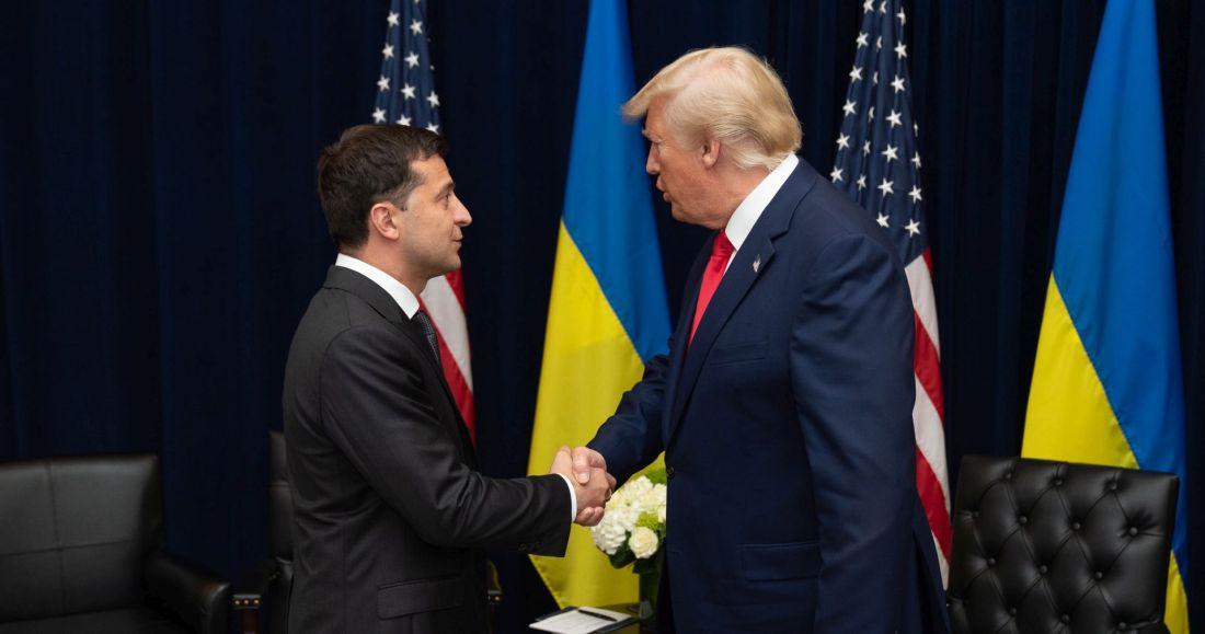 Trump gir opp Ukraina-prosjektet i samtalen med Zelinskij.