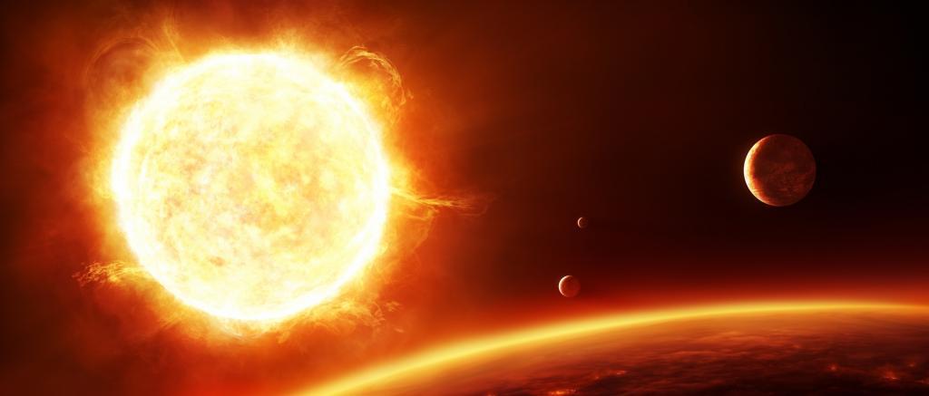 Solen blir kaldere
