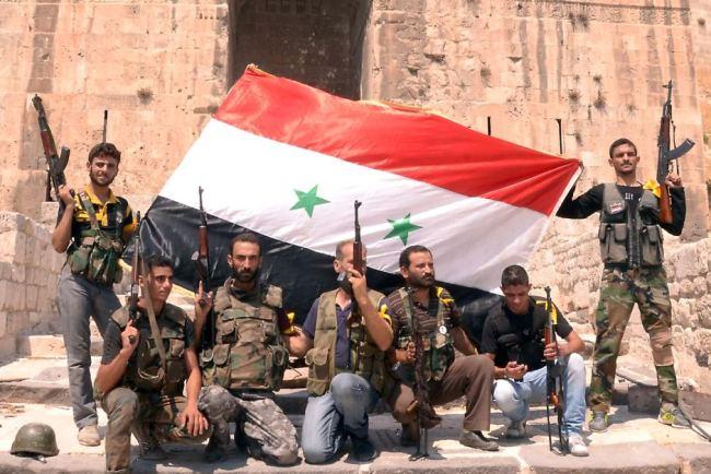 Den syriske befolkningen er vinner av krigen mot Syria.