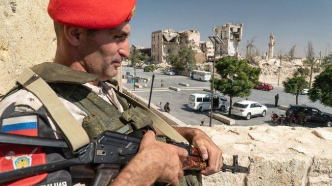 Russiske tropper beskytter kristne i Syria mot kurdere og tyrkere.