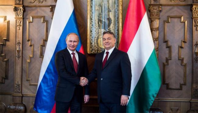 Putin er i Ungarn. Begge landene har felles interesser på flere områder.