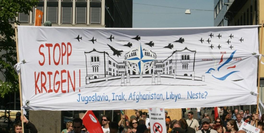 Norge som fram til 1999 aldri hadde angrepet noe annet land - ble en krigsnasjon.