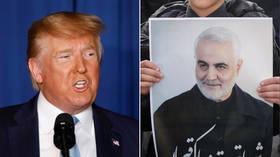 Trump sier nå ar det var skitpratet til Soleimani som fikk han drept.