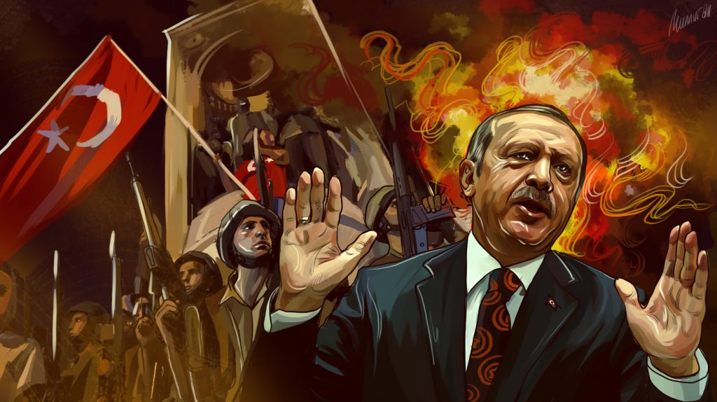 Tyrkias kurs i Syria er fortsatt uklar.