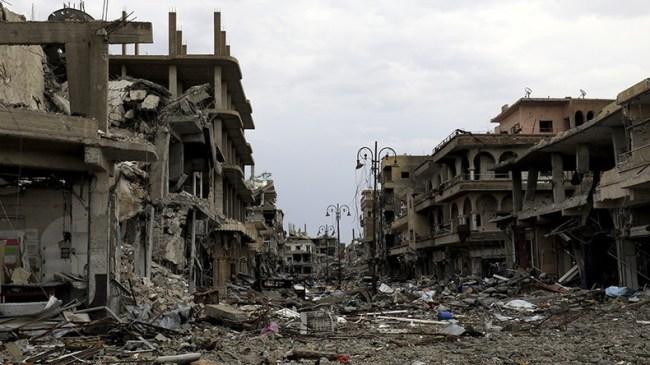 Angela Merkel innrømmer at Syriakrigen var en angrepskrig, ikke en borgerkrig.