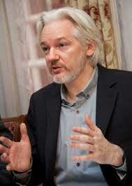 Julian Assange får pris fra den russiske journalistforeningen.