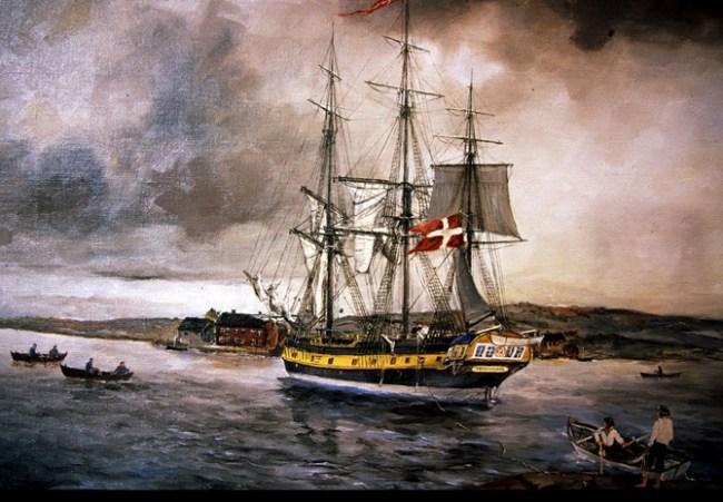 Har dagens norske ansvar slavevirksomheten for flere 100 år siden? Har den norske staten det?