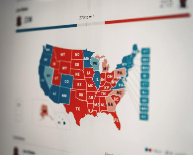 I Pennsylvania vare det 200 000 flere stemmer enn det antallet som stemte ved valget.