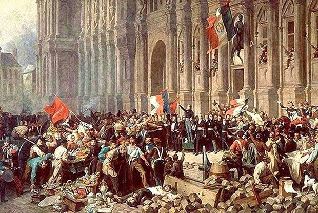 """Historen om hvordan Pariserkommunen fødte den kjente kampsangen """"Internasjonalen"""" for 150 år siden."""