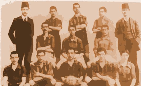 İlk Türk Futbolcular