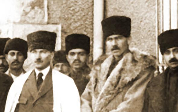 Mustafa Kemal Atatürk ve  Çerkez Ethem