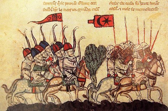 Birinci Humus Savaşında Moğollar (İlhanlılar) ve Memlük Sultanlığı Orduları