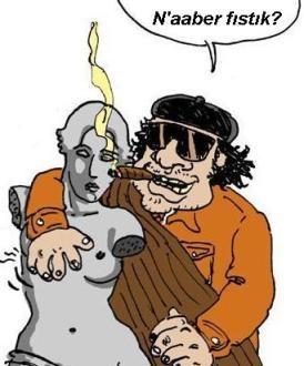Kaddafi ve PornoKaddafi ve Porno