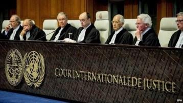 Uluslararası adalet / International justice / العدالة الدولية