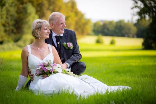 Brautpaar im Putbusser Park