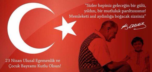 23 Nisan Özel: Mustafa Kemal Atatürk'ün Çocuklar ile İlgili Söylediği Yol Gösteren Muhteşem Sözler