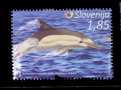 Briefmarke aus Slowenien (Copyright: Matjaž Učakar)