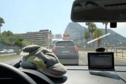 Im Auto nach Gibraltar (Foto: Rüdiger Hengl)
