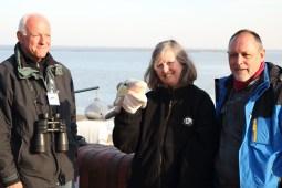 Hier seht ihr mich mit Wilfried, Michael und Susanne (Foto: Rüdiger Hengl)