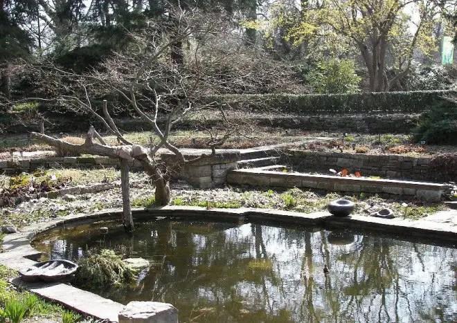 Karl Foerster Garten Der Stauden Senkgarten
