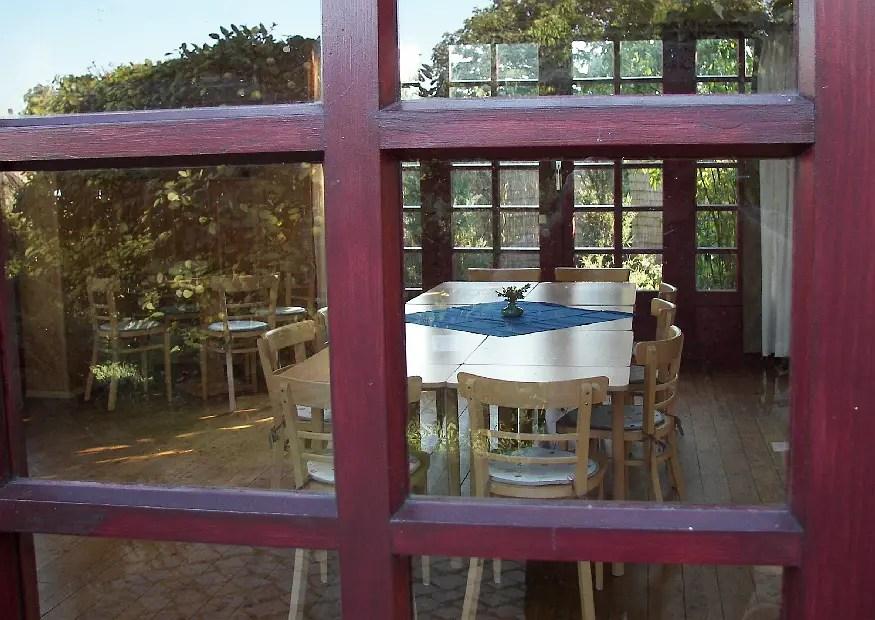 Ein Gartenpavillon fr Partys und Familienfeiern