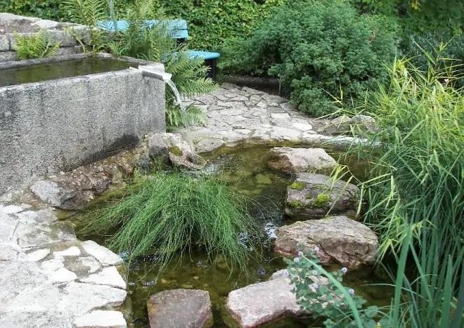 Beispiele Quelle Bachlauf Wasserfall  Mit Wasser den