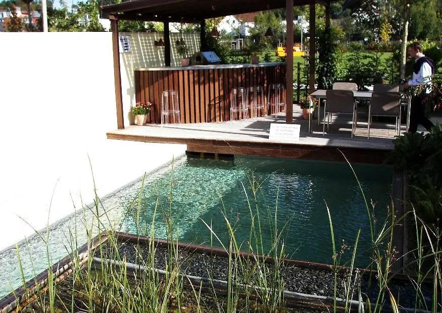kleine terrasse ohne rasen mediterran gestalten gartengestaltung, Hause und garten