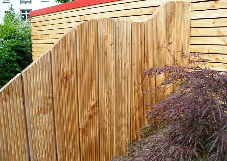 Garten Trennwand Holz – Godsriddle Info