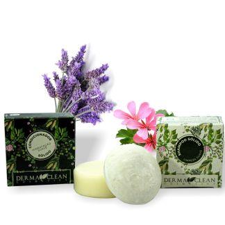 shampoo e Condicionador Sólido - Limpeza e Hidratação Suave