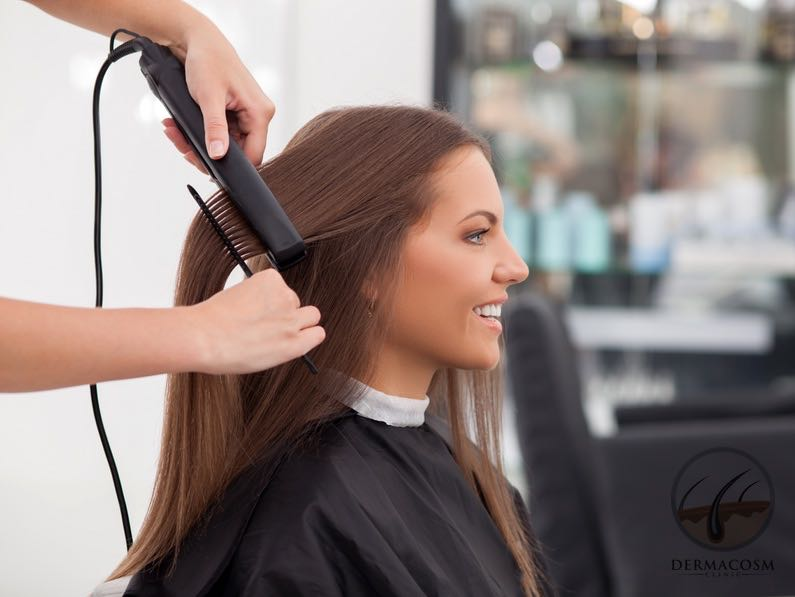 Hair Rebonding How Safe Is It Dermacosm