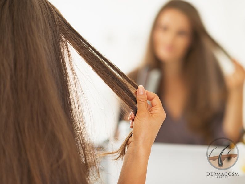 What is keratin hair straightening?