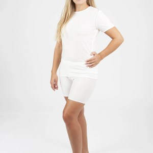 woman wearing dermacura dressing