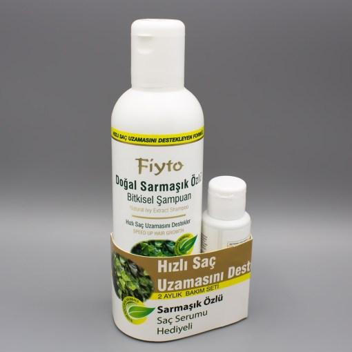Fiyto Sarmaşık Özlü Şampuan 500 ml + Saç Serumu 75 ml